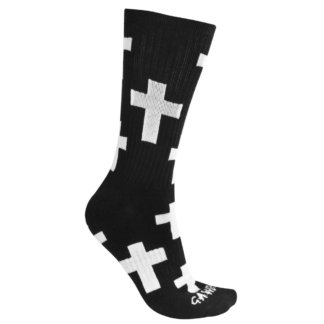 SKA430008 GAWDS Socken Medium Black Skateshop Weil am Rhein SkaMiDan