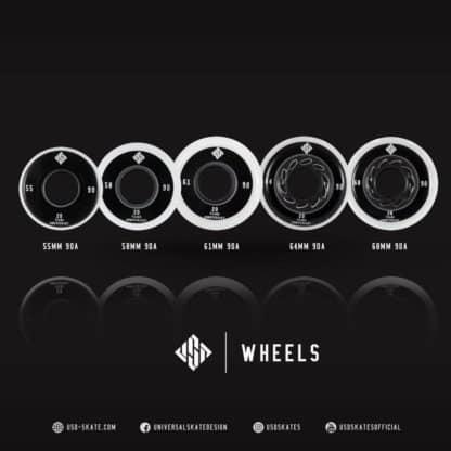SKA700484 USD Team Wheels 68mm/90A SkaMiDan