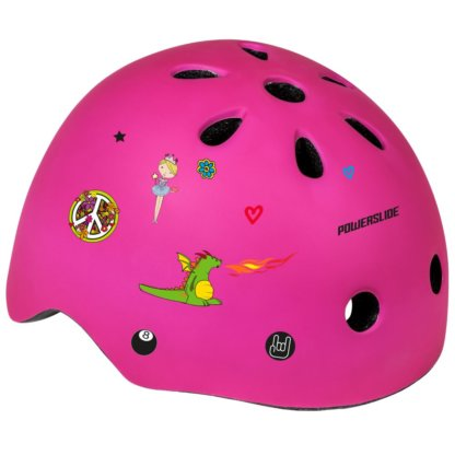 SKA906024 POWERSLIDE Allround Adventure Pink Kinder Skatehelm SkaMiDan