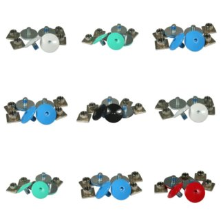 SKA700638 USD Cuff Screw Set Bunt SkaMiDan Skateshop Weil am Rhein