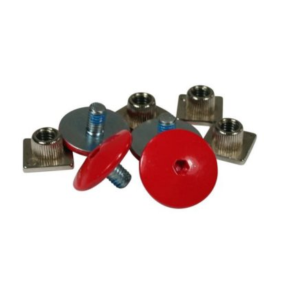 SKA700642 USD Cuff Screw Set Bunt USD Cuff Screw Set Red SkaMiDan Skateshop Weil am Rhein
