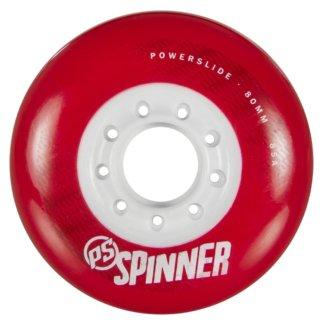 SKA905283 Red POWERSLIDE Spinner Wheels 80mm/85A Red 4-Pack SkaMiDan Skateshop Weil am Rhein