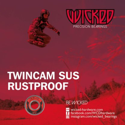 SKA310024 Wicked WCD Twincam SUS Rustproof Kugellager SkaMiDan