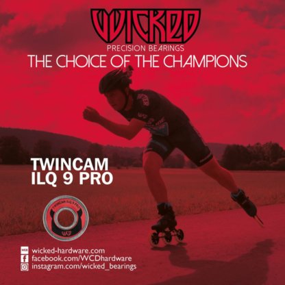 SKA310062 Wicked WCD Twincam ILQ 9 Pro Kugellager SkaMiDan