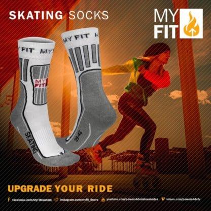 SKA900988 MyFit Skating Socks Fitness SkaMiDan
