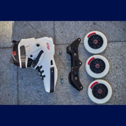 SKA908238 POWERSLIDE Next Megacruiser 125 White SkaMiDan