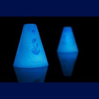 SKA908009 POWERSLIDE Slalom Cones Hütchen Glow in the dark SkaMiDan
