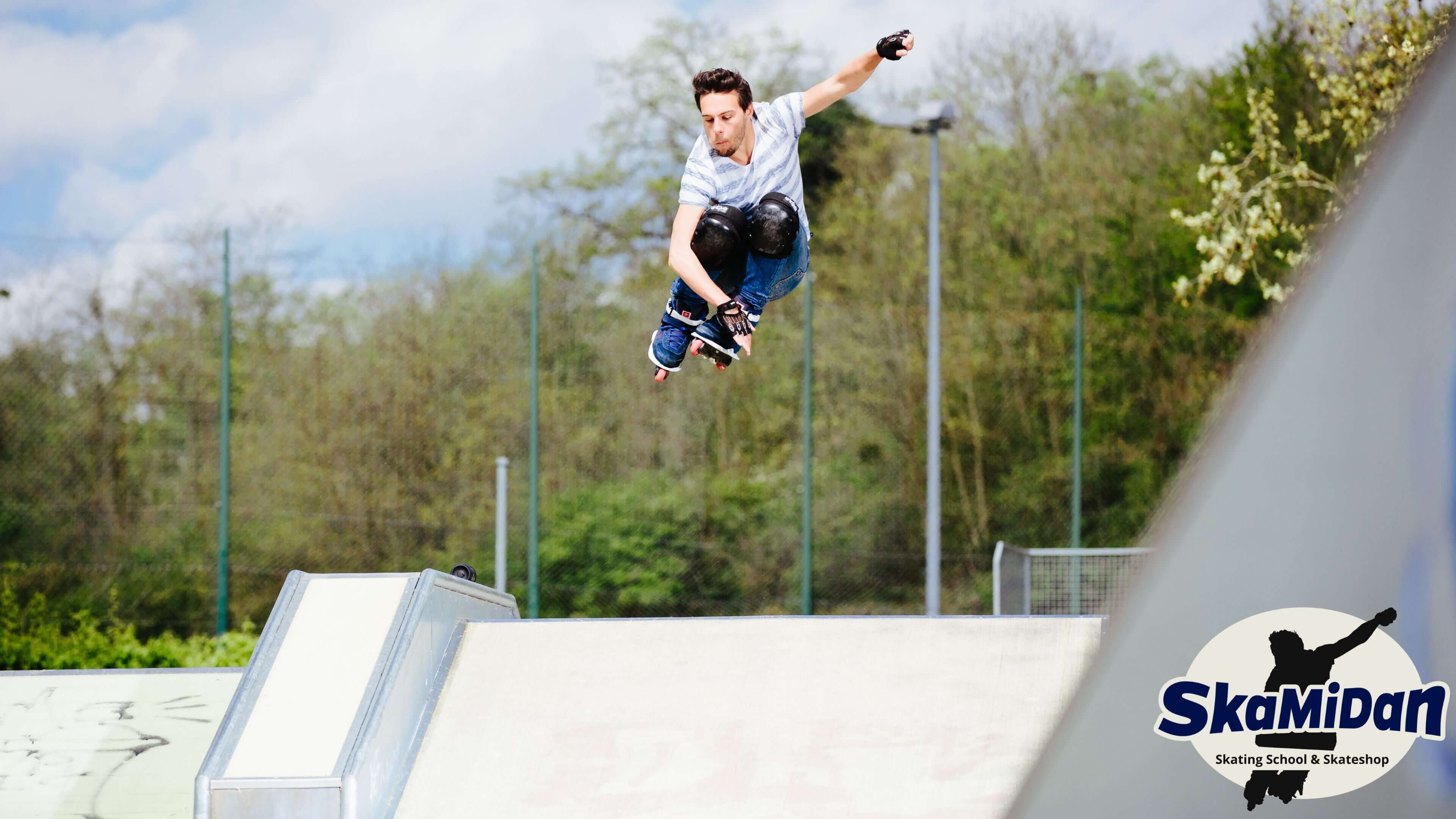 Skateschule SkaMiDan Weil am Rhein Basel Lörrach und Region Aggressive Inline Skating Kurse