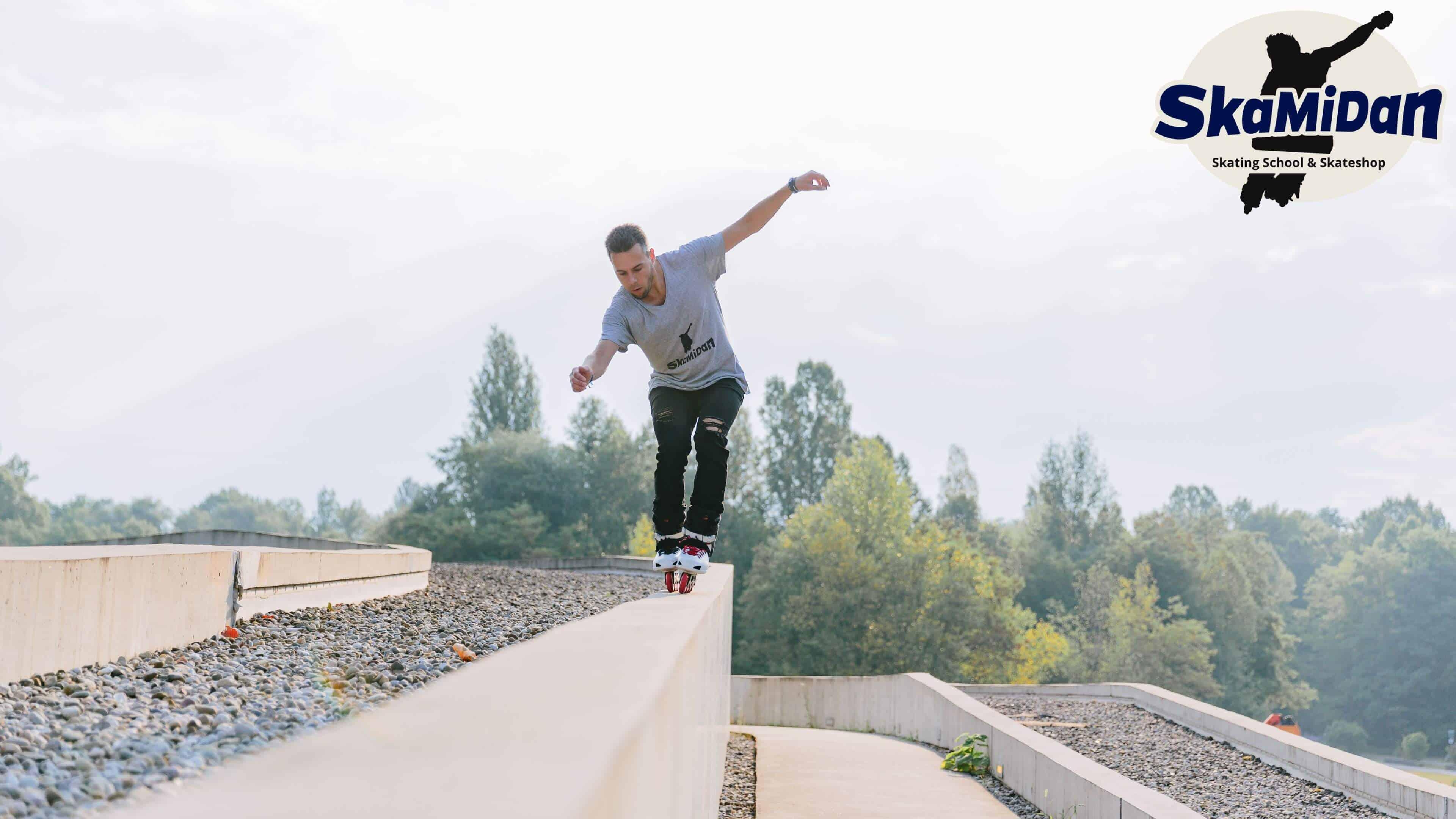 Skateschule SkaMiDan Weil am Rhein Basel Lörrach und Region Inline Skating Disziplinen Urban Skating