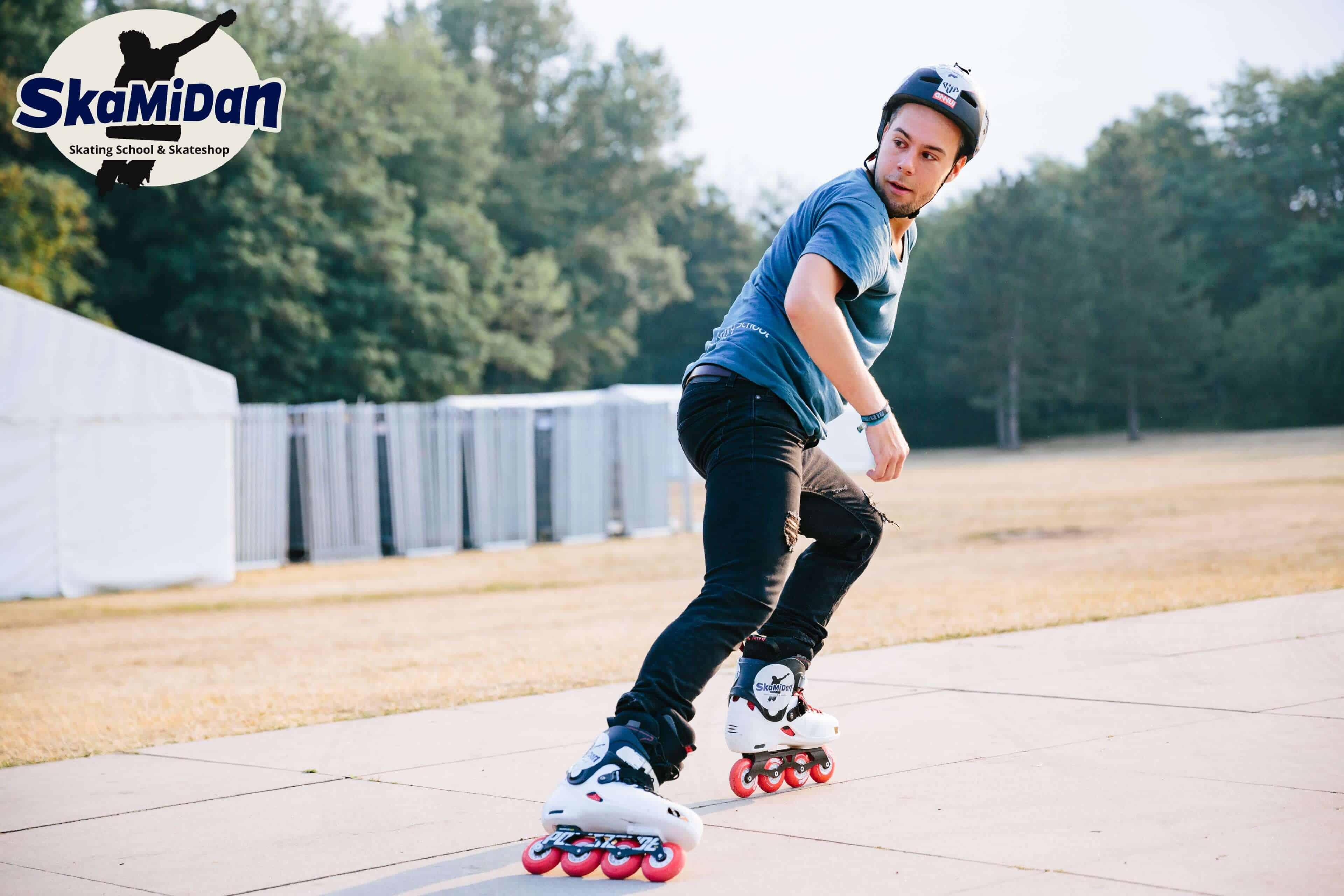 Skateschule SkaMiDan Weil am Rhein Basel Lörrach und Region Inline Skating Kurse mit profesionellem Trainer