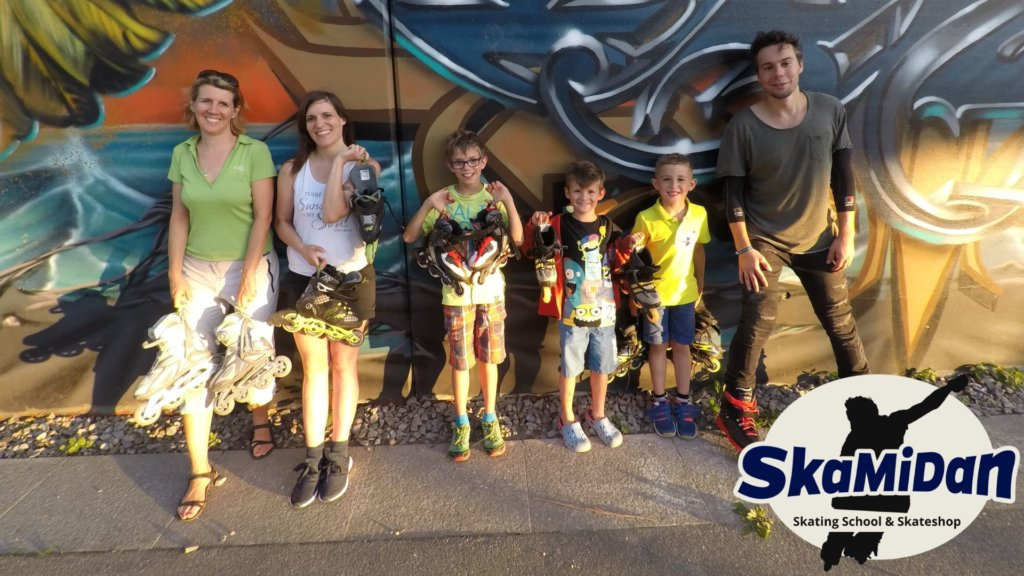 Skateschule SkaMiDan Weil am Rhein Basel Lörrach und Region Inliner Kurs