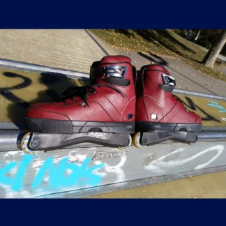 VSKAVAL0144 VALO BS. OX Blood Light Skates EU 44 (Verleih) Skateshop Weil am Rhein SkaMiDan