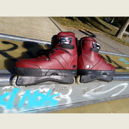 VSKAVAL0144 VALO BS. OX Blood Light Skates EU 44 | Verleih Skateshop Weil am Rhein SkaMiDan