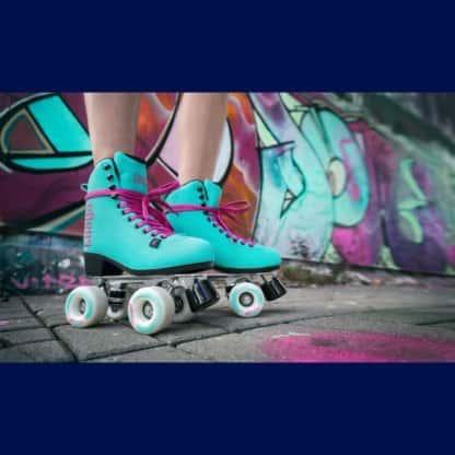 SKA810584 CHAYA Melrose Deluxe Turquois Lifestyle Rollschuhe Skateschule und Skateshop Weil am Rhein SkaMiDan