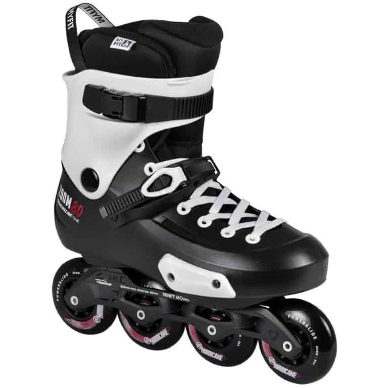 SKA880237 POWERSLIDE Zoom 80 Black inline and rollerblading skate school and skate shop Weil am Rhein SkaMiDan