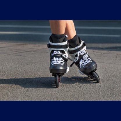 SKA880237 POWERSLIDE Zoom 80 Black Skateschule und Skateshop Weil am Rhein SkaMiDan