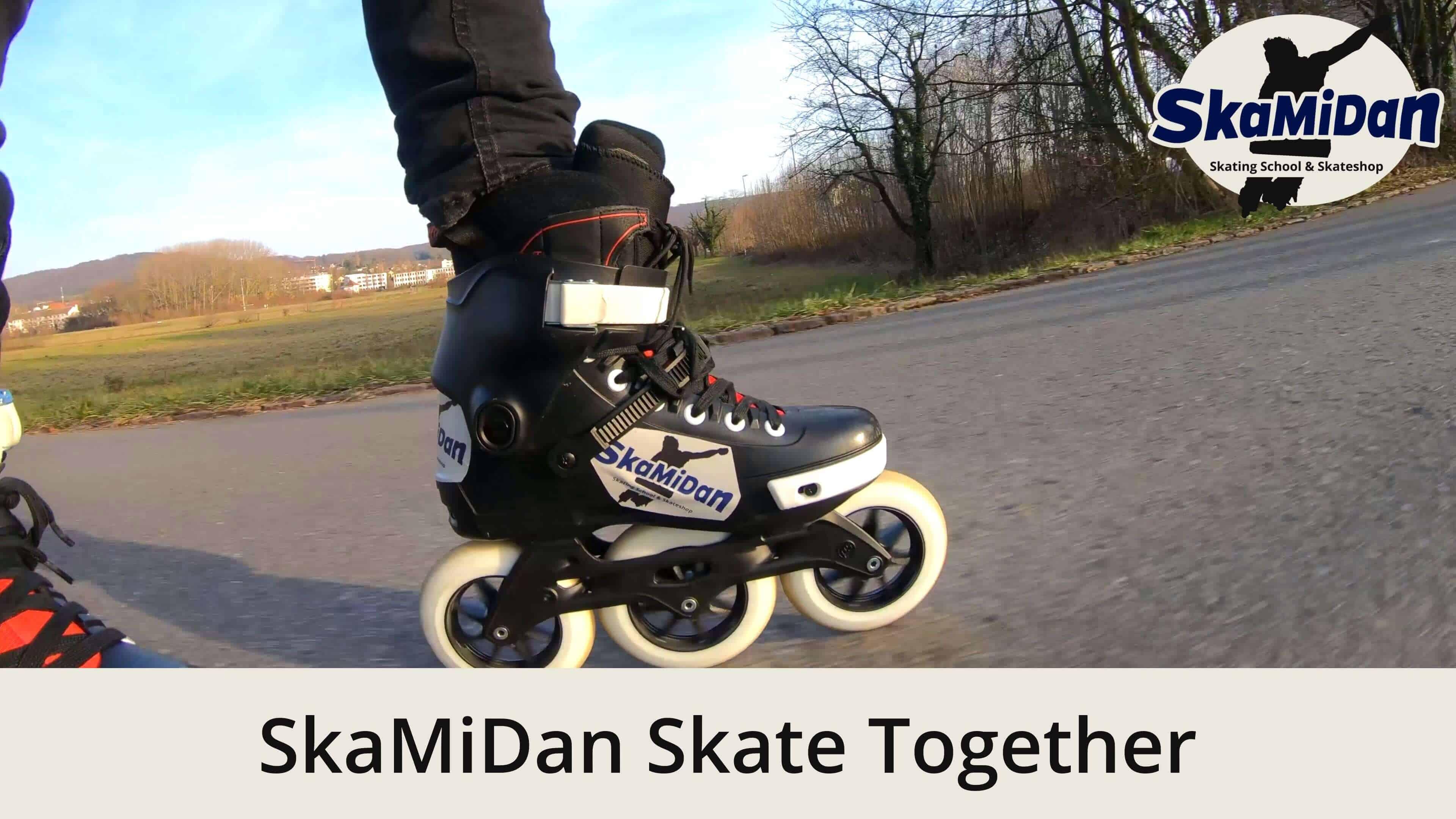 SkaMiDan Skate Together Erlen Skate Lange Erle Skateschule und Skateshop SkaMiDan Weil am Rhein Basel Lörrach Freiburg Inliner Skates Rollschuhe