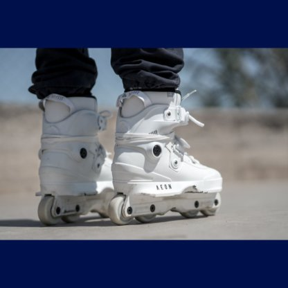 SKA710147 USD Aeon 60 XIX White 2019 Inline Skateschule und Skateshop Weil am Rhein SkaMiDan