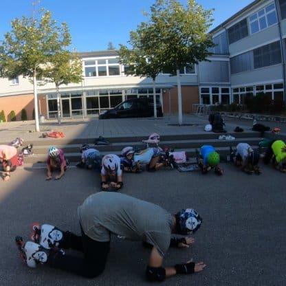 Inline Skating Kurse für Kinder und Jugendliche Inliner Skateschule Weil am Rhein SkaMiDan