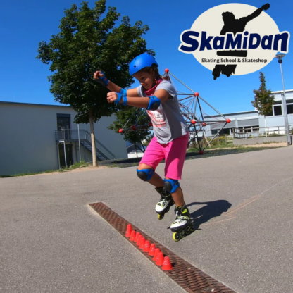 Inline Skating Kurse für Kinder und Jugendliche Inline Skating Rollerblading Inliner Skateschule Weil am Rhein SkaMiDan Skateshop