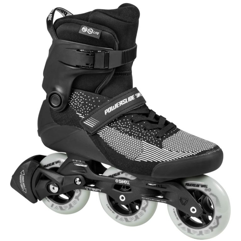SKA510034 POWERSLIDE Swell Lite Trinity 100 Black Inline rollerblading skate school and skate shop Weil am Rhein SkaMiDan
