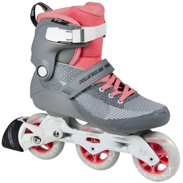 SKA510036 POWERSLIDE Swell Lite Trinity 90 Grey Pink Rollerblading inline skate school and skate shop Weil am Rhein SkaMiDan