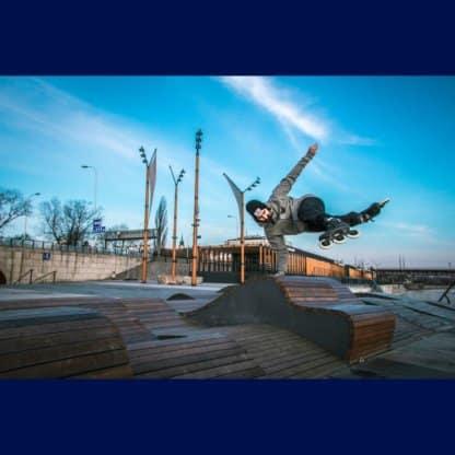 SKA908223 POWERSLIDE Kaze Supercruiser Trinity 110 Black Inliner Skateschule und Skateshop SkaMiDan Weil am Rhein