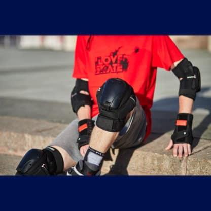 SKA920064 ENNUI Ave Knee Gaskets Inliner Skateschule und Skateshop Weil am Rhein SkaMiDan