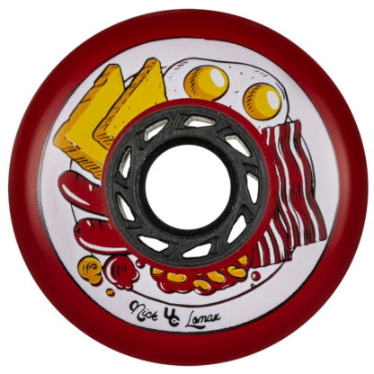 SKA406166 UNDERCOVER Nick Lomax Foodie Wheels 80mm 88A Red Inliner Skateschule und Skateshop Weil am Rhein SkaMiDan