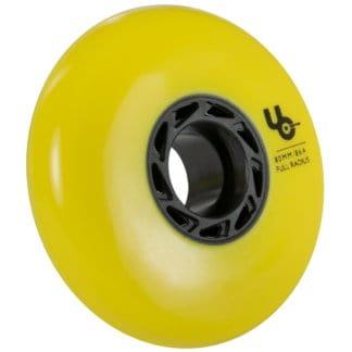 SKA406186 UNDERCOVER Blank Team Wheels 80mm 86A Yellow Inliner Skateschule und Skateshop Weil am Rhein SkaMiDan