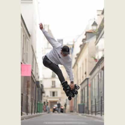 SKA908336 POWERSLIDE Zoom Pro Black 100 Inliner Skateschule und Skateshop Weil am Rhein