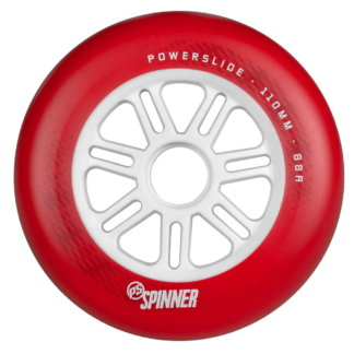 SKA905319 POWERSLIDE Spinner Wheels 110mm 88A Red 1-Stück Inliner Skateschule und Skateshop Weil am Rhein SkaMiDan