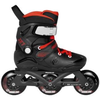 SKA940637 POWERSLIDE Jet Pro Black Kids Inlineskates (größenverstellbar) Inliner Skateschule und Skateshop Weil am Rhein SkaMiDan