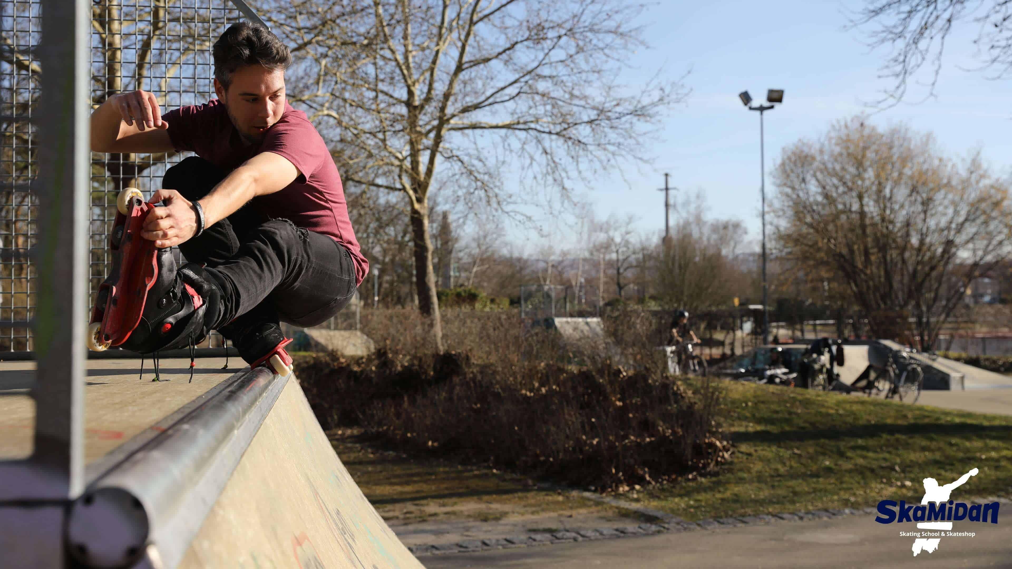 SkaMiDan's Trickliste des Aggressive Inline Skating Rocket Makio Grind