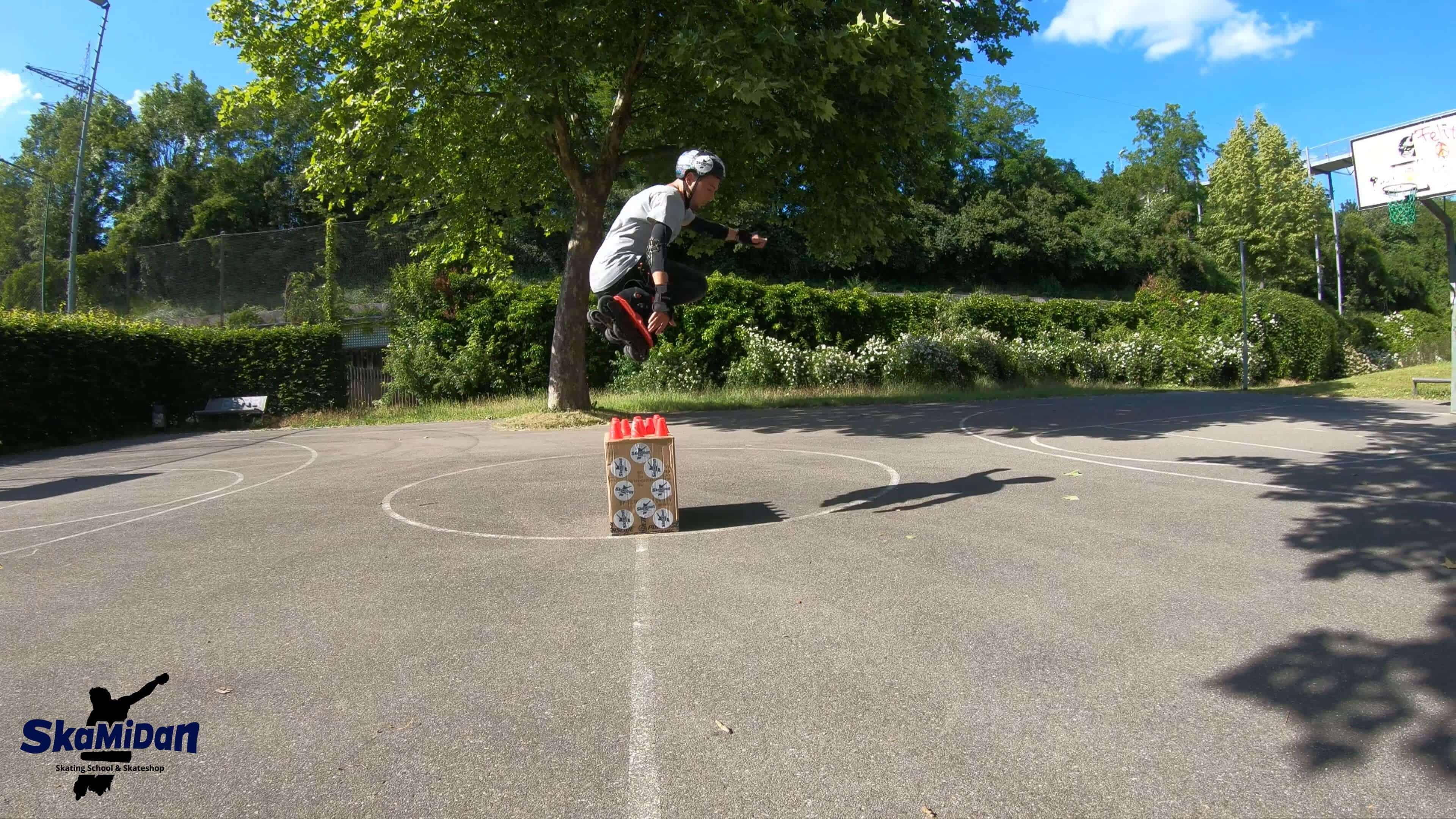Inline Skating Beginner Anfänger Inliner Skateschule Weil am Rhein SkaMiDan