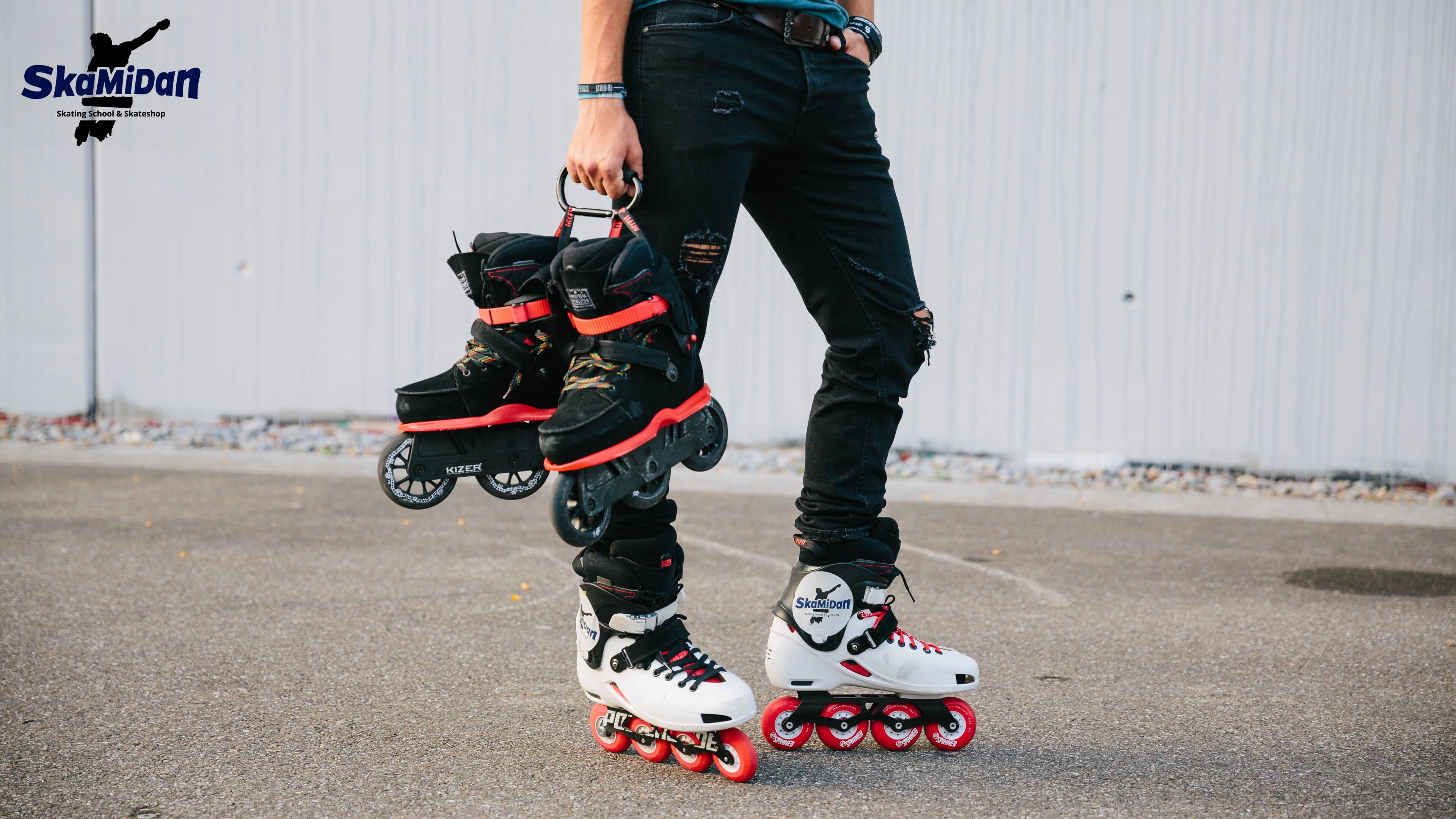 Inline Skating Grundlagen Inliner Skateschule Weil am Rhein SkaMiDan