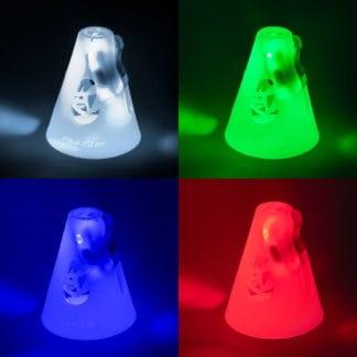 SKA907067 907068 907069 907070 POWERSLIDE LED Slalom Cones Hütchen Glow in the dark Inliner Skateschule und Skateshop Weil am Rhein SkaMiDan