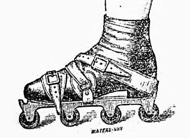 Erstes Patent Inlineskates Rollschuhe Robert John Tyers Grundwissen und Wissenswertes im Inline Skating Inliner Skateschule Weil am Rhein SkaMiDan_2