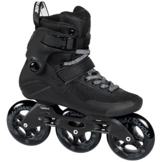 SKA510038 POWERSLIDE Swell Trinity 110 Triple Black Fitness Inlineskates Inliner Skateschule und Skateshop Weil am Rhein SkaMiDan