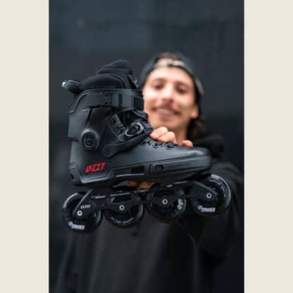 SKA908329 POWERSLIDE Next 80 Core Black Urban Inlineskates Inline Skating Inliner Skateshop und Skateschule Weil am Rhein SkaMiDan