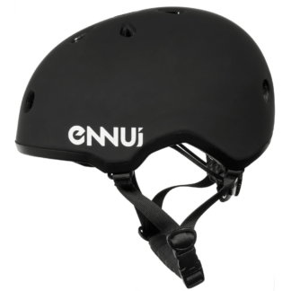 SKA920102 ENNUI Elite Black Skate Helmet | Size adjustable | 54-59cm Rollerblading aggressive inline skating skate shop and skating school SkaMiDan Weil am Rhein