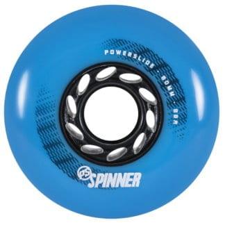 SKA905386 POWERSLIDE Spinner Wheels 80mm 88A Blue (4-Pack) Inline Skating Freestyle Slalom Skating Inliner Skateschule und Skateshop Weil am Rhein SkaMiDan