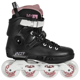 SKA908328 POWERSLIDE Next 80 Rose Urban Inline Skates Inline skating rollerblading inline skate shop and skating school SkaMiDan Weil am Rhein