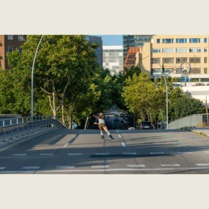 SKA908328 POWERSLIDE Next 80 Rose Urban Inlineskates Inline Skating Rollerblades Inliner Skateshop und Skateschule Weil am Rhein SkaMiDan