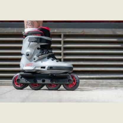 SKA908330 POWERSLIDE Next 90 Burgundy Grey Urban Inlineskates Aggressive Inline Inlineskates Inliner Skateschule und Skateshop Weil am Rhein SkaMiDan