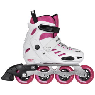 SKA880261 POWERSLIDE One Khaan Junior SQD Pink Kids inline skates rollerblades children skates inline skate shop and skating school SkaMiDan Weil am Rhein