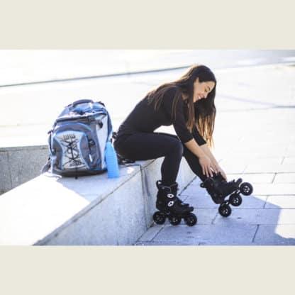 SKA908277 POWERSLIDE HC Evo Pro Black | Trinity | Freestyle Inlineskates Rollerblades Freeskates Inline Freestyle Slalom Skates Slalom Blades Inliner Skateshop und Skateschule Weil am Rhein SkaMiDan