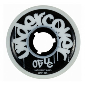 SKAPWS-430009 UNDERCOVER OG Naturally Aged Wheels 58mm 90A Discolored Aggressive inline wheels rollerblading Stunt Skating Rollen Stunt wheels trickrollen agressive Urban Inline Rollen freestyle wheels slalom skating wheels Skateschule und Skateshop SkaMiDan Weil am Rhein