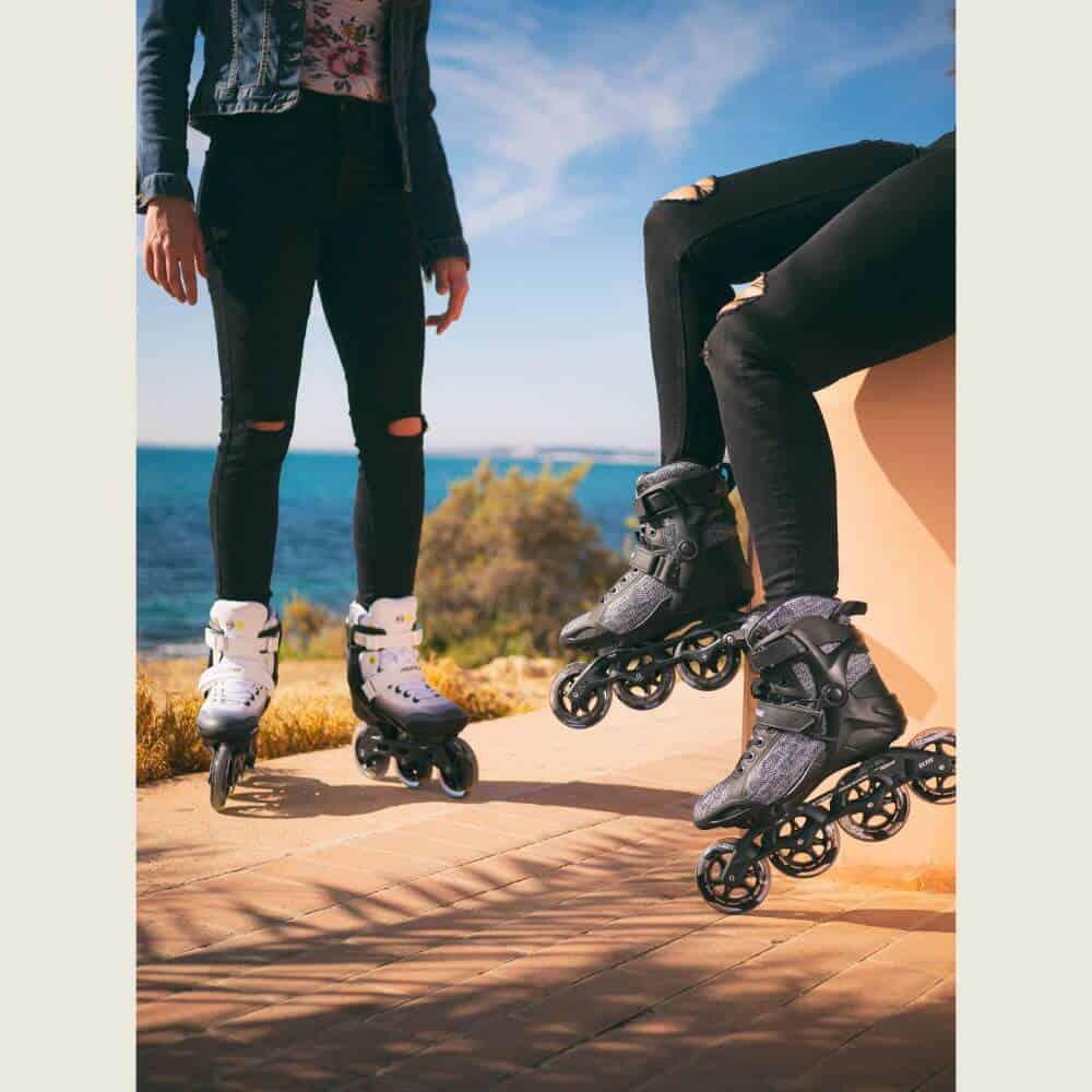 Powerslide Phuzion Radon Enzo 90 Inline Skates Inlineskates Inliner Fitness NEU