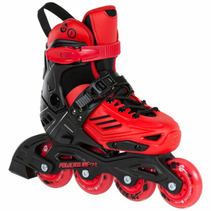 SKA940671 POWERSLIDE One Khaan Jr. LTD Red Kinder Inlineskates Kids Skates Kinder Inliner Inline Skating Junior Skates Urban Skates Powerslide One Kids Skates Freestyle Slalom Skating Inliner Skateschule und Skateshop Weil am Rhein SkaMiDan